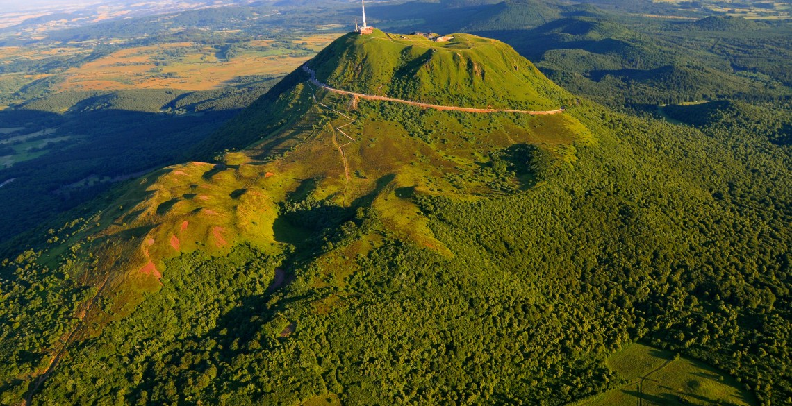 Puy de dome et parc des volcans d'Auvergne